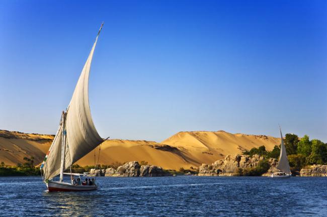 Crucero por el Nilo, Egipto