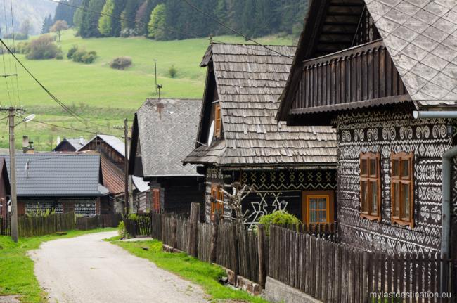 Čičmany, pueblo tradicional, Eslovaquia