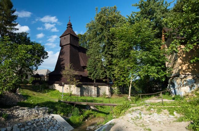 Iglesia de San Francisco de Asís en Hervatov, Eslovaquia