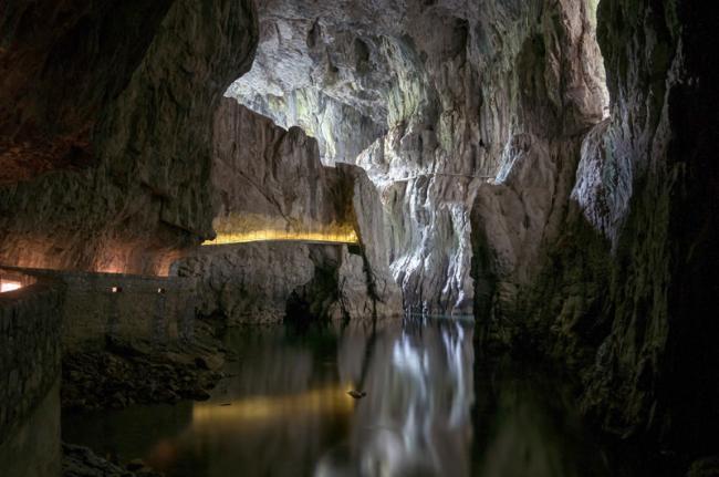 Cuevas de Škocjan, Eslovenia