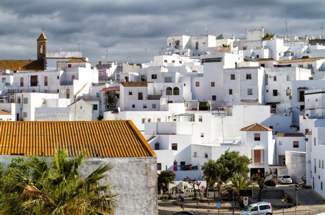 Pueblo blanco de Vejer de la Frontera, Cádiz, Andalucía, España