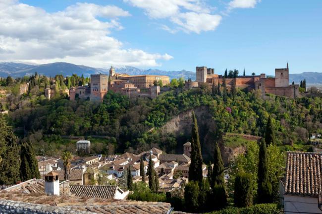 La Alhambra, Granada, Andalucía, España
