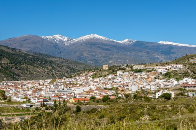 Velez Benaudalla y Sierra Nevada, Las Alpujarras, Granada, Andalucía, España