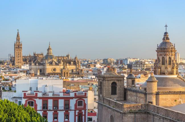 Catedral de Sevilla y Alcázar, Sevilla, Andalucía, España