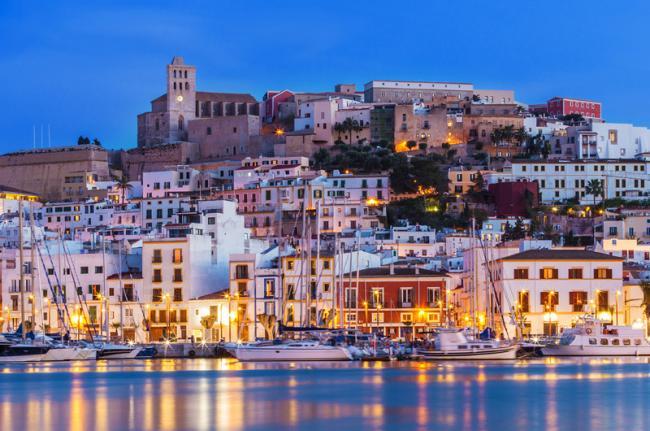 El puerto, Ibiza, Islas Baleares, España