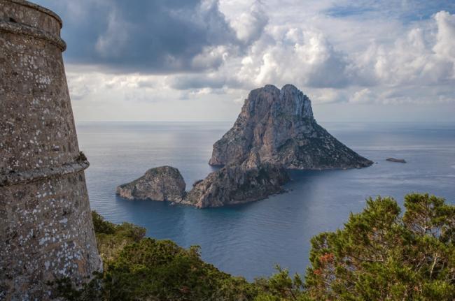Es Vedrà, Ibiza, Islas Baleares, España