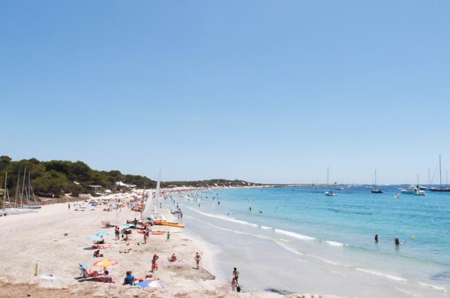 Platja de ses Salines, Ibiza, Islas Baleares, España