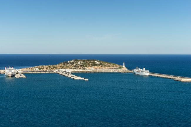 Puerto de Talamanca, Ibiza, Islas Baleares, España