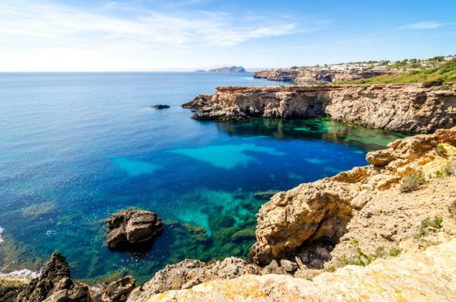 Playas del norte, Ibiza, Islas Baleares, España