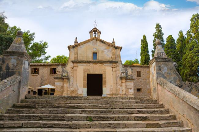 Iglesia El Calvari, Pollença, Mallorca, Baleares, España