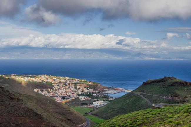 San Sebastián, La Gomera, Canarias, España