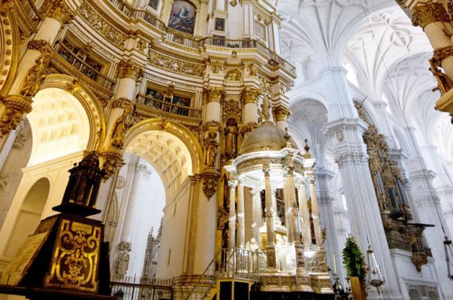 Catedral de la Encarnación, Granada, Andalucía, España