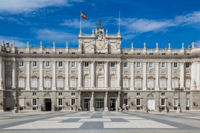 Palacio Real, Madrid, Comunidad de Madrid, España