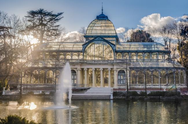 Palacio de Cristal, Parque del Buen Retiro, Comunidad de Madrid, España