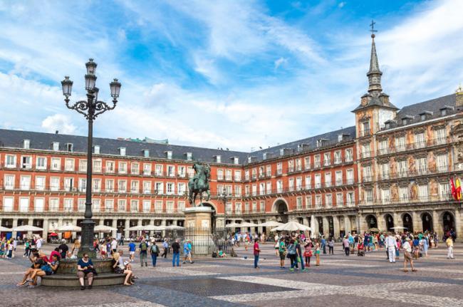 Plaza Mayor, Madrid, Comunidad de Madrid, España