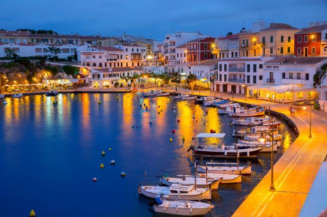 Centro histórico de Maó, Menorca, Baleares, España