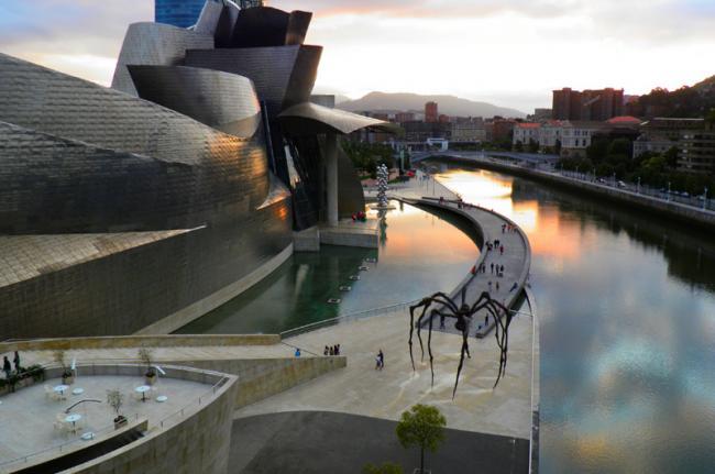 Museo Guggenheim Bilbao, Bilbao, País Vasco, España