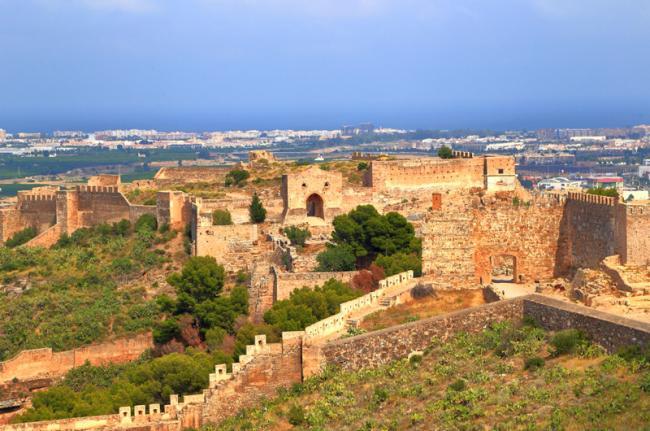 Castillo de Sagunto, Comunidad Valenciana, España