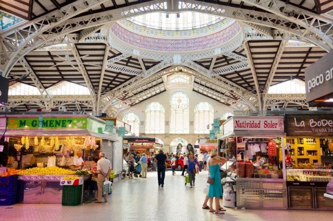 Mercado Central, Valencia, Comunidad Valenciana, España