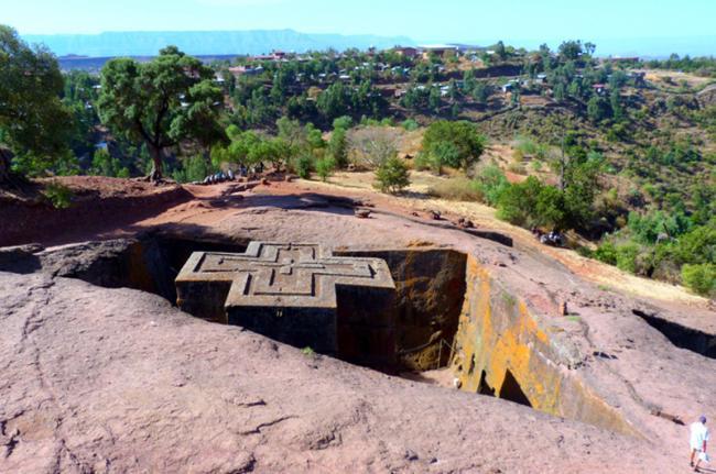 Iglesias de Lalibela, Etiopía
