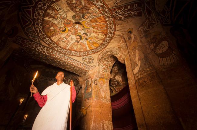Iglesias de Tigray, Etiopía