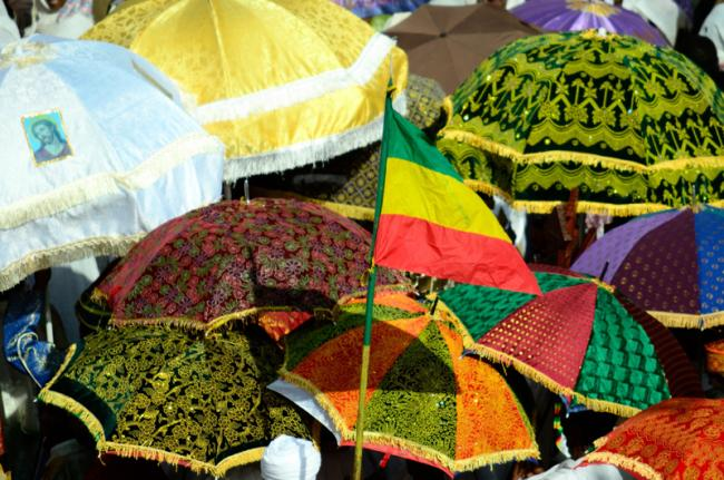 Celebración de El Timkat, Etiopía