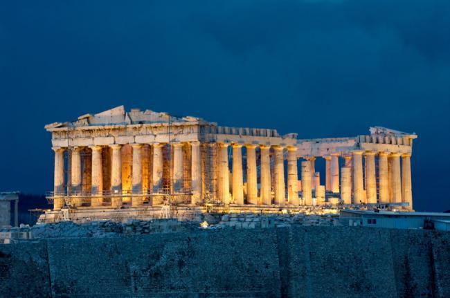 El Partenón, Acrópolis, Atenas, Grecia