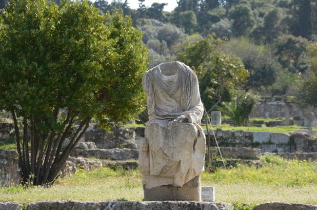 Ágora antigua, Atenas, Grecia