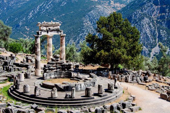Antigua Delfos, Grecia