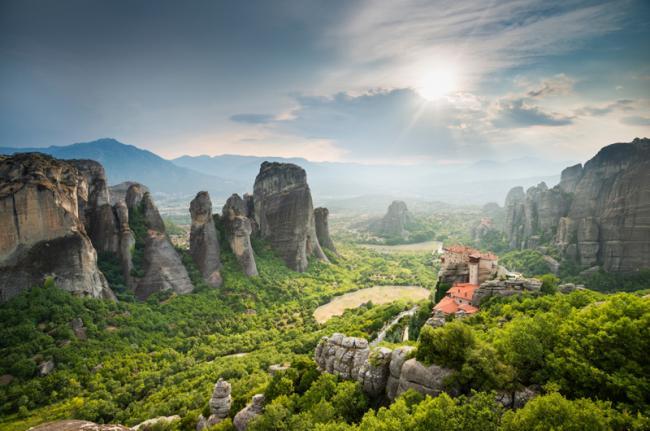 Meteora, Grecia
