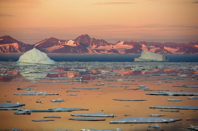 Navegar por Groenlandia