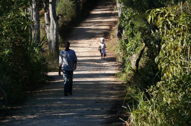 Senderismo en el Parque Nacional La Visite, Haití