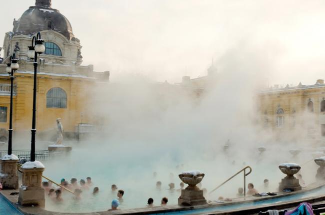 Baños termales, Budapest, Hungría