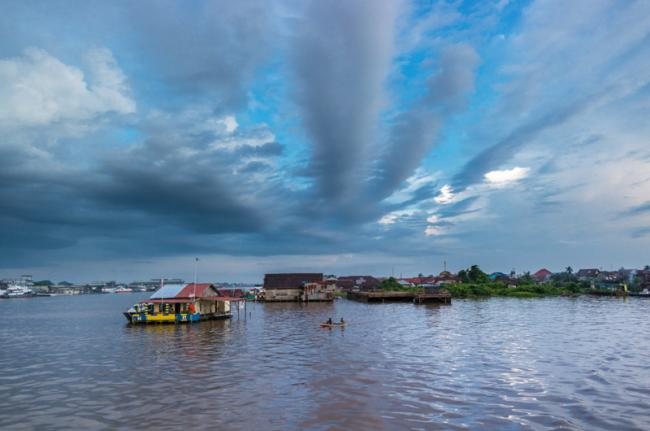 Río Kapuas, Indonesia