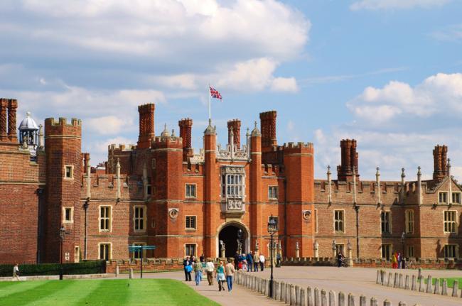 Palacio de Hampton Court, Inglaterra