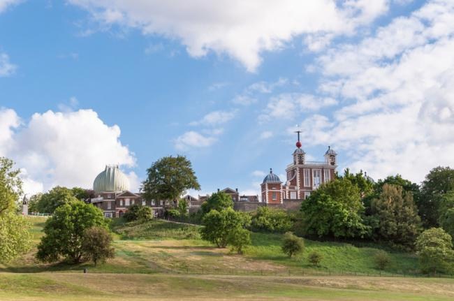 Royal Observatory y Greenwich Park, Londres, Inglaterra