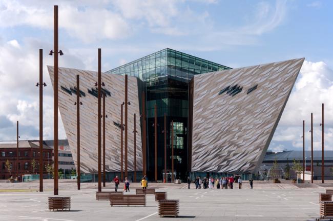 Museo 'Titanic', Belfast, Irlanda