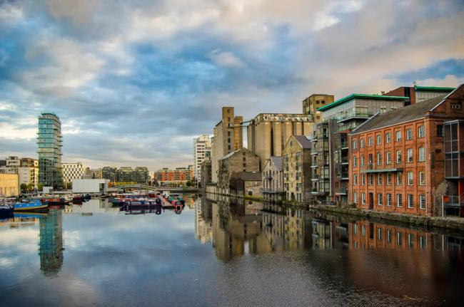 Gran Canal, Dublín, Irlanda