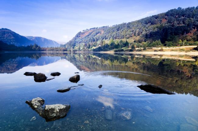 Glendalough, condado de Wicklow, Irlanda
