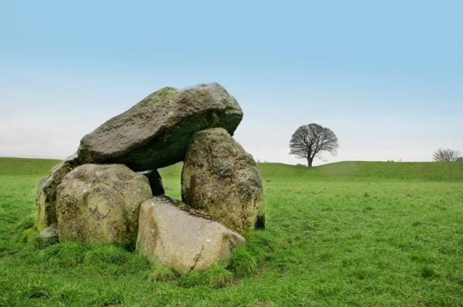 Cementerio megalítico de Carrowmore, condado de Sligo, Irlanda