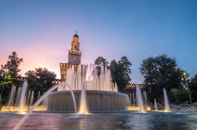 Castello Sforzesco, Milán, Italia