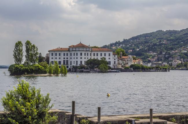 Palazzo Borromeo, isole Borromee, Lago Maggiore, Italia