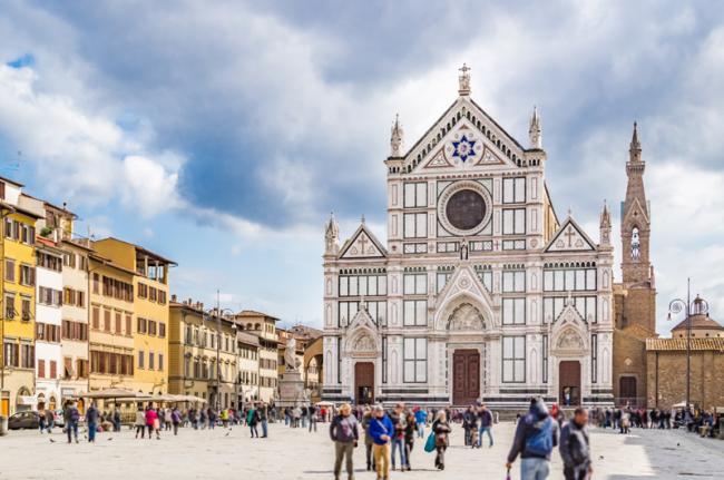 Basilica di Santa Croce, Florencia, Toscana, Italia
