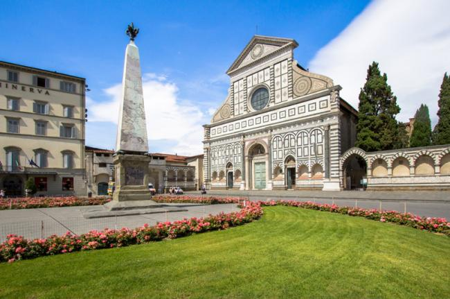 Basilica di Santa Maria Novella, Florencia, Toscana, Italia