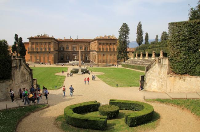 Palazzo Pitti, Florencia, Toscana, Italia