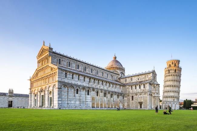 Piazza dei Miracoli, Pisa, Toscana, Italia