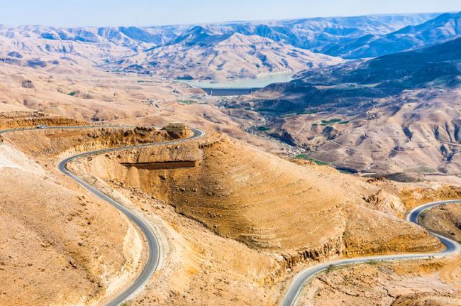 La carretera del Rey, Jordania