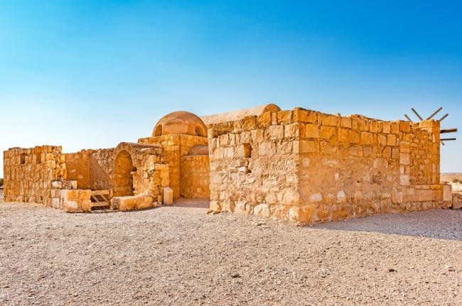 Qusayr Amra, Jordania