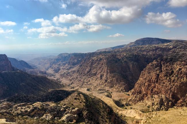 Reserva de la Biosfera de Dana, Jordania