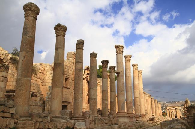 Ruinas del Imperio Romano, Jordania